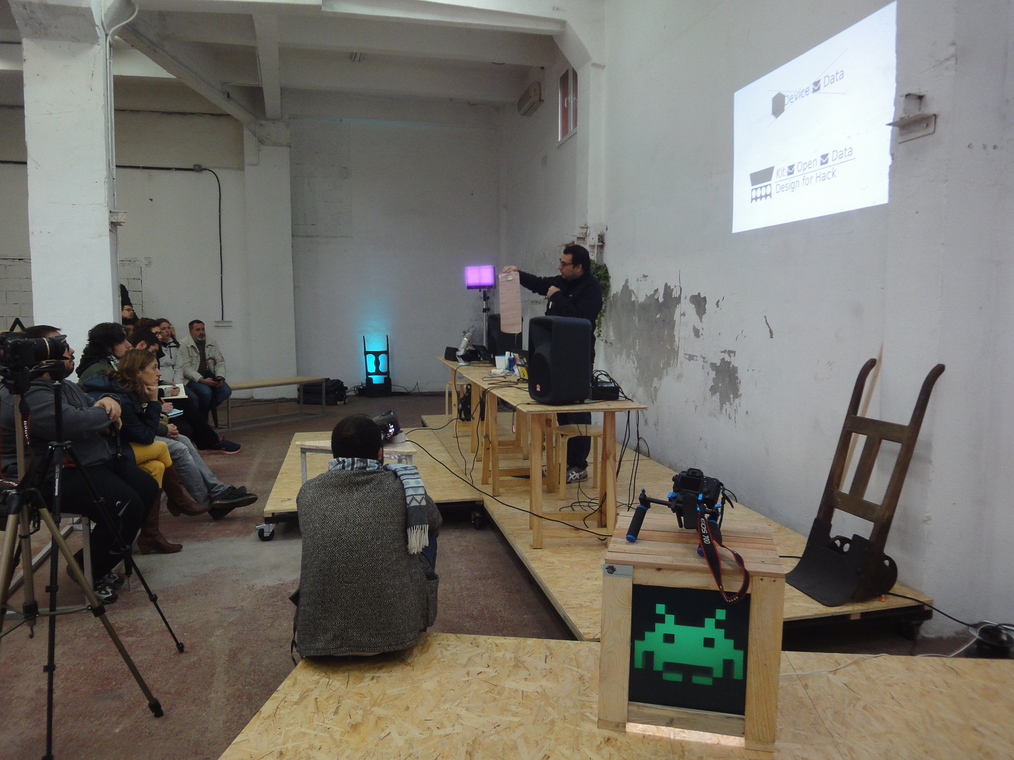Presentacion Jose Marquez Maker Faire Bilbao