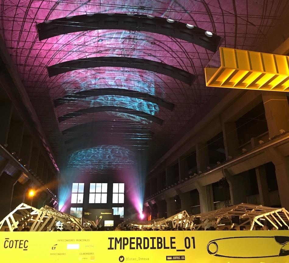 Nave central donde se celebró el Imperdible Sonar+D