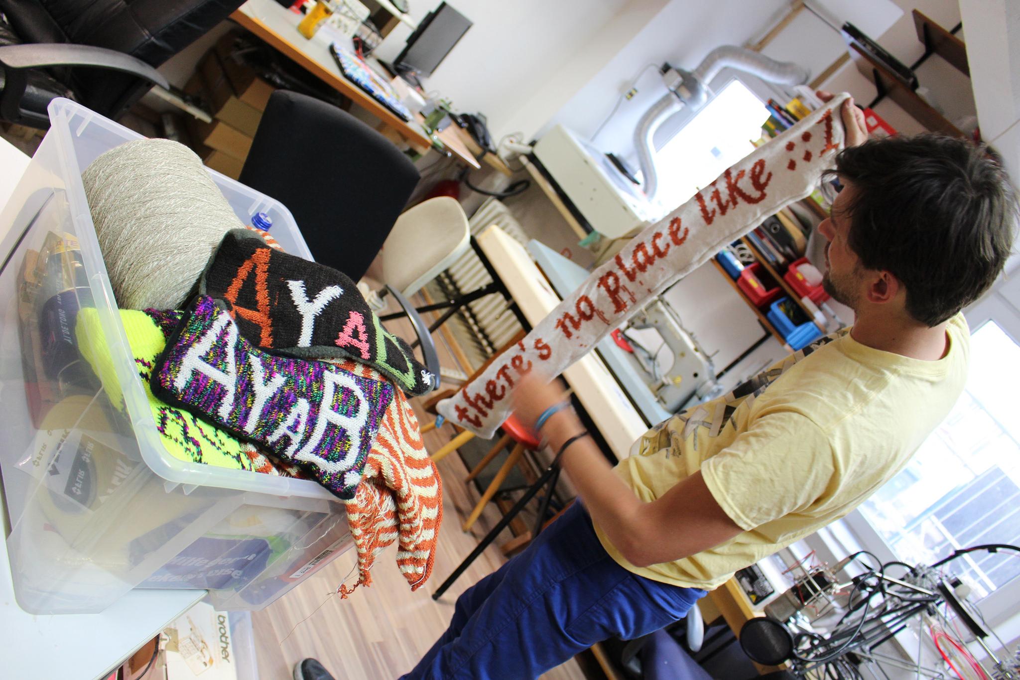 Open Knit y Ayab en CCC 2014