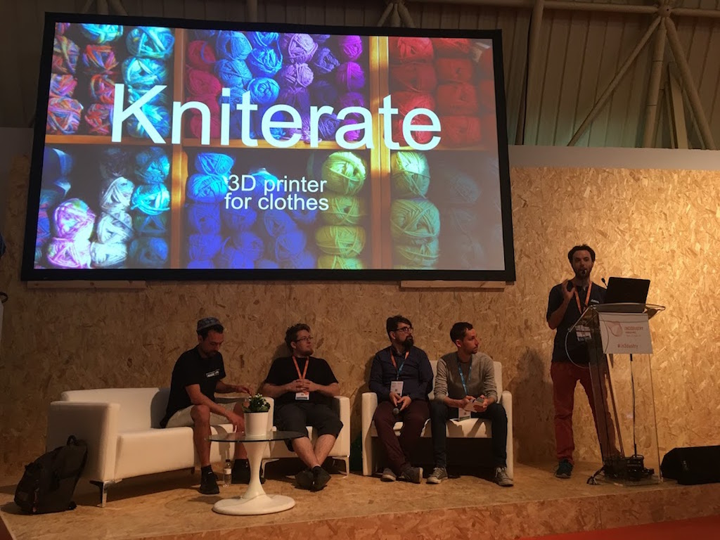 Presentacion Kniterate en In3dustry