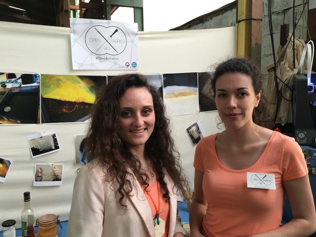 Fundadoras del proyecto Open Bio Fabrics