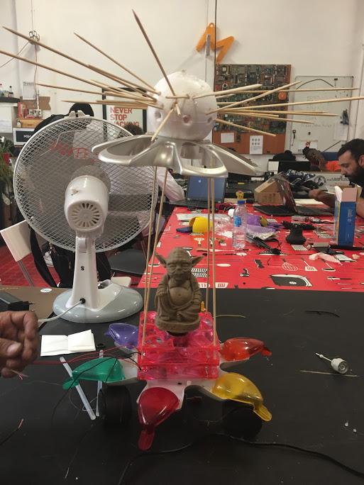 Yodabot - Robot participante en Hebocon Madrid