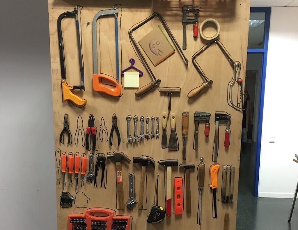 Banco de herramientas de Maker Convent Barcelona