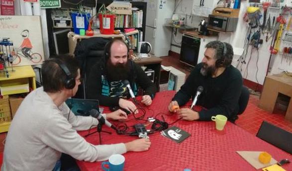 Conversación sobre FPGAs libres con Obijuan y David Cuartielles