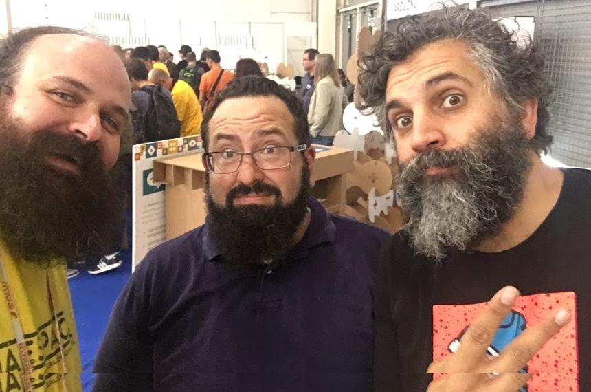 Entrevista Dan Hugo en Maker Faire Roma