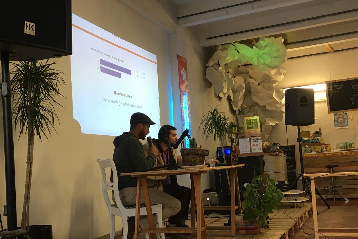 Presentación de Viviane Roussel en Maker Faire Bilbao