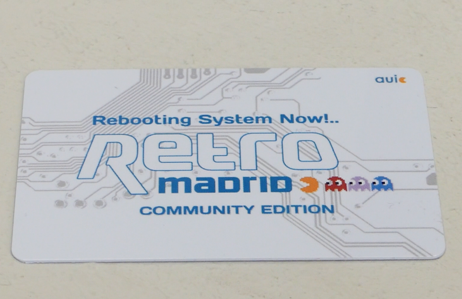 Acreditación acceso RetroMadrid 2017