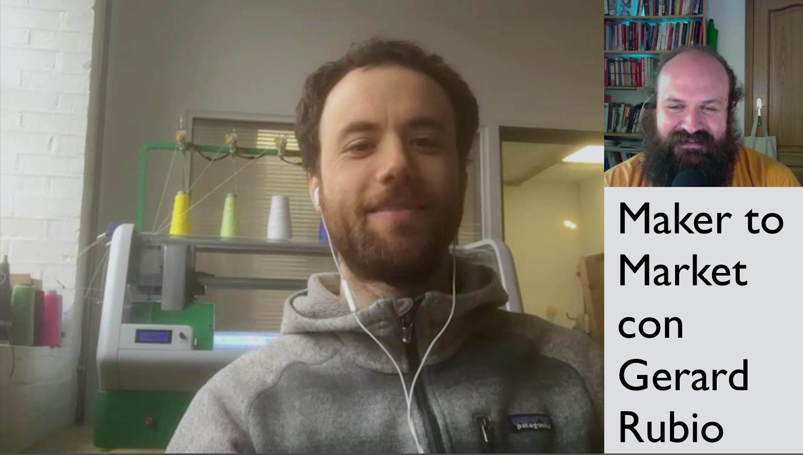 Entrevista Gerard Rubio sobre el lanzamiento de Kniterate