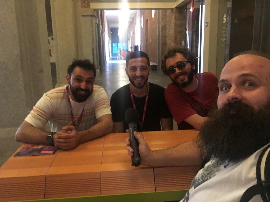 Entrevista a Gianluca Pugliese, Aldo Sollazo, Massimo Menichinelli y José Manuel González (que se incorporó más tarde), que han participado en el proyecto FabLinkage para unir a makers italianos y españoles.