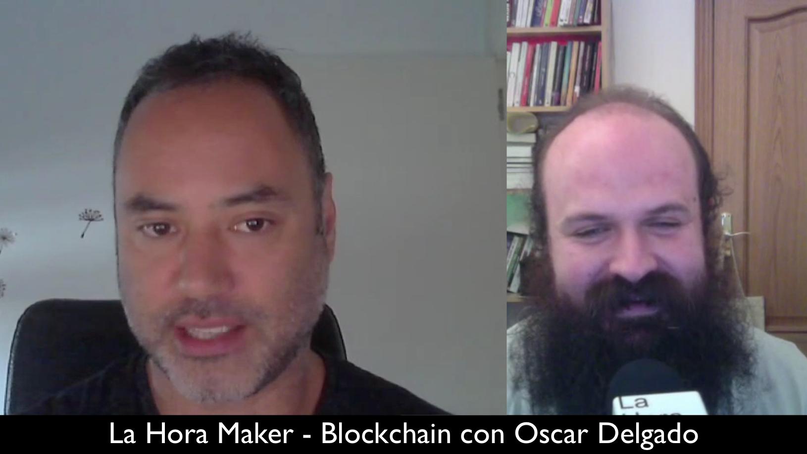 Entrevista Oscar Delgado hablando sobre Blockchain