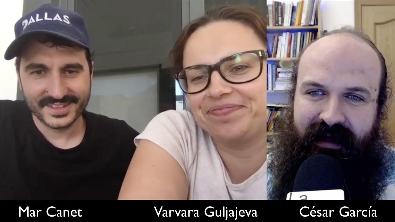 Entrevista Varvara y Mar sobre arte digital