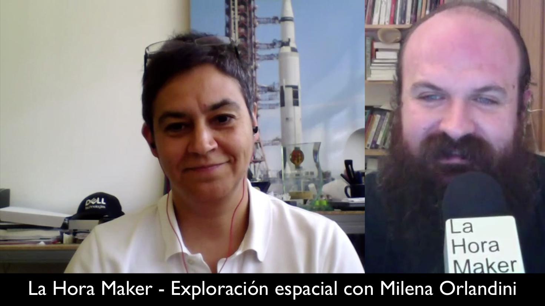 Exploramos el espacio con Milena Orlandini