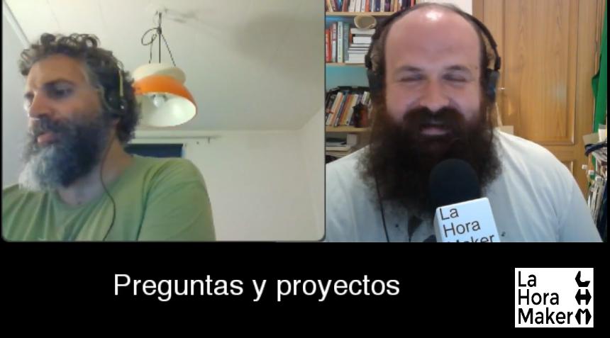 David Cuartielles y César García dan inicio al capítulo de agosto de preguntas y proyectos