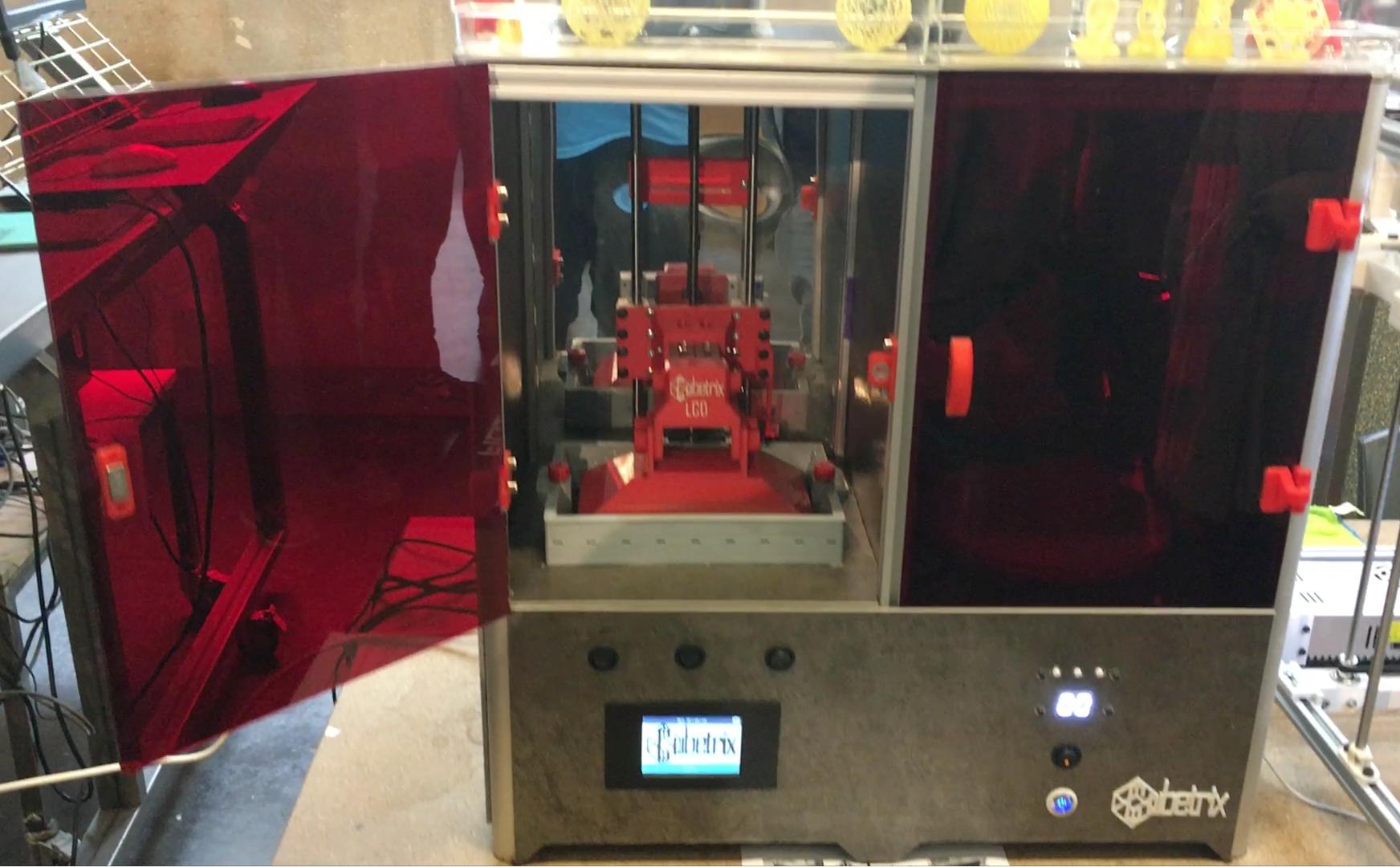 Impresora SLA Cubetrix