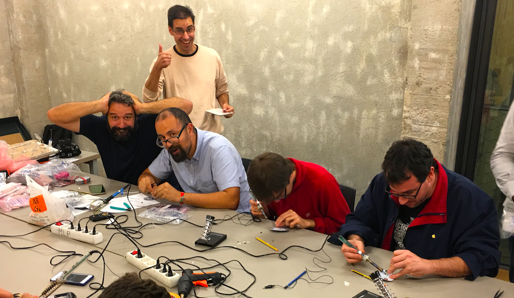 Talleres de soldadura en Madrid Mini Maker Faire