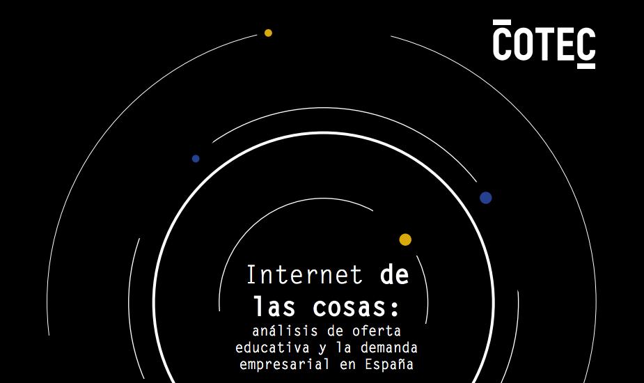 Portada del informe COTEC sobre Internet de las Cosas