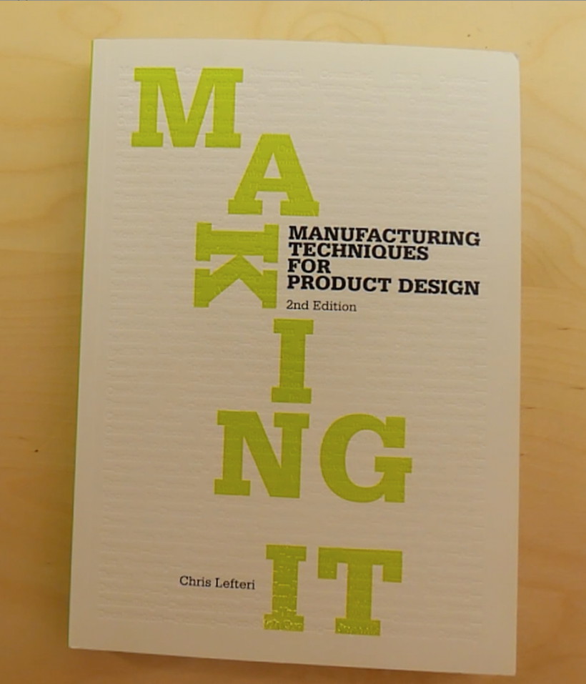 Portada Libro Making It de Chris Lefteri