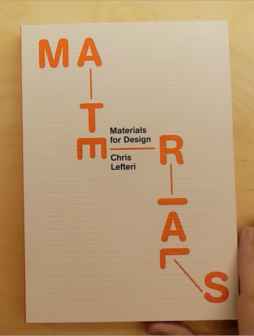 Portada Libro Materials for Design de Chris Lefteri