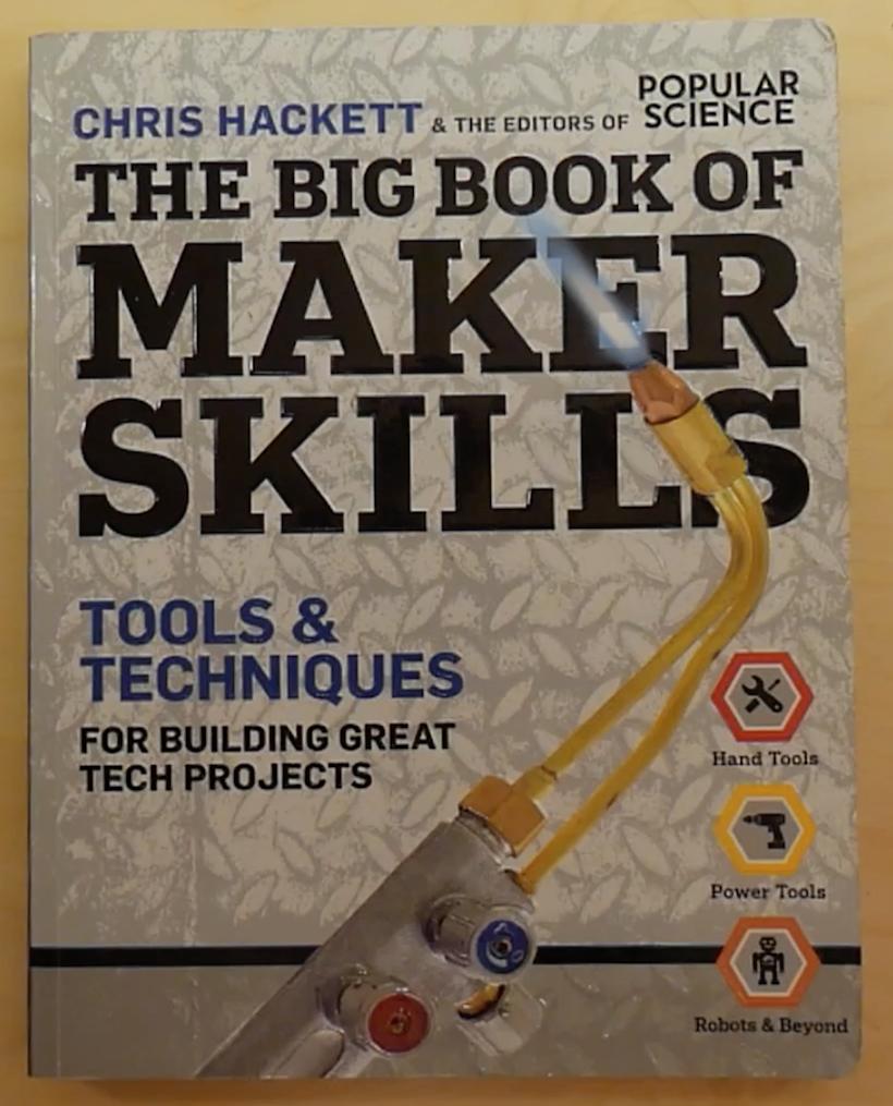 Portada Libro The Big Book of Maker Skills