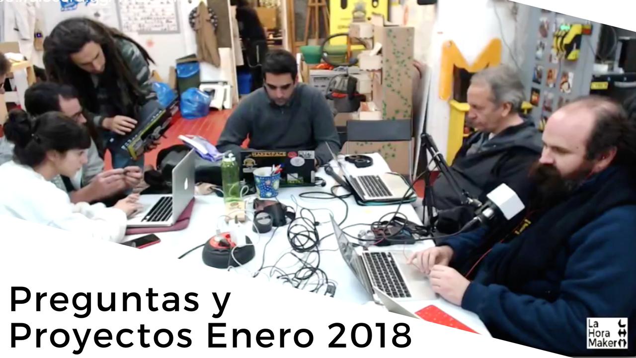 Preguntas y Proyectos Enero 2018