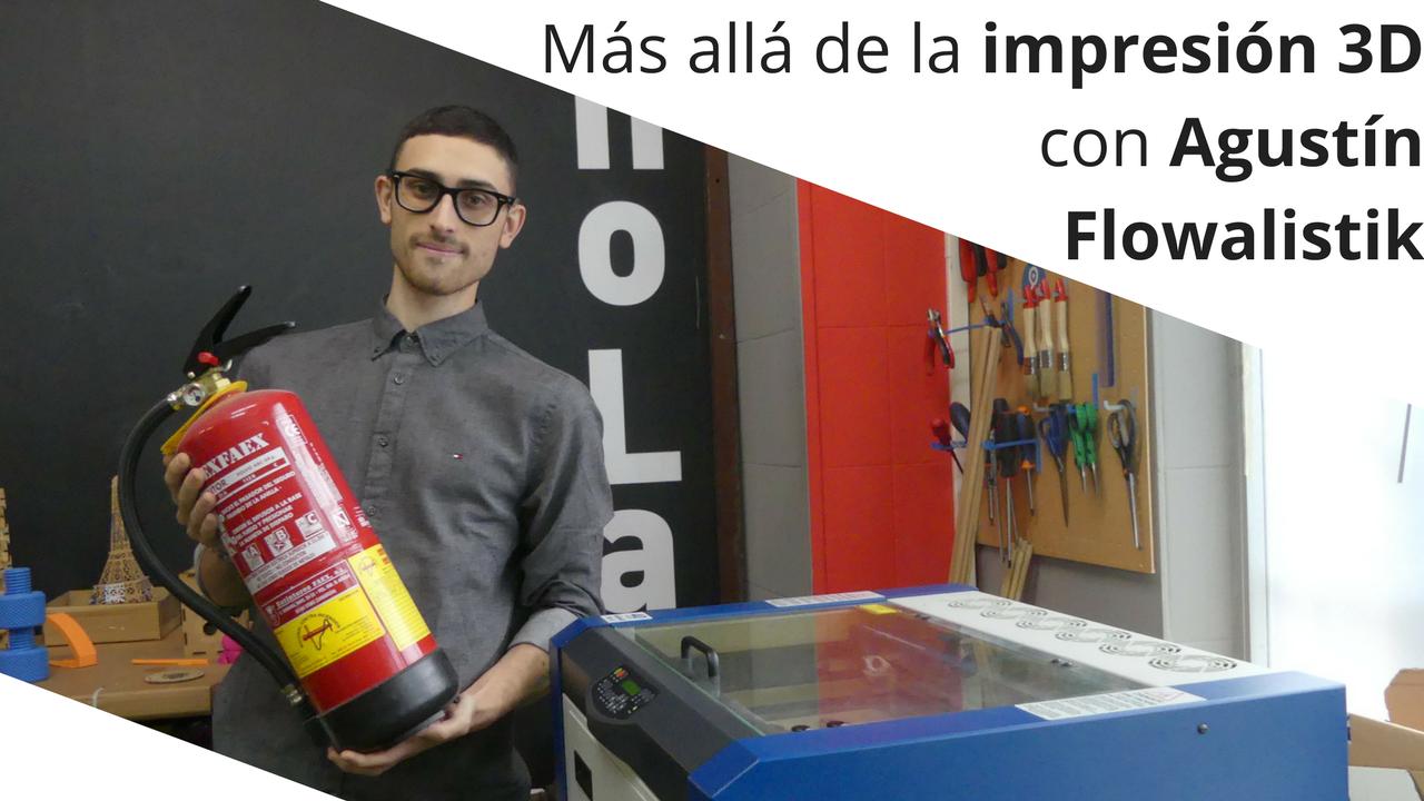 Agustín Flowalistik nos anima a experimentar extintor en mano
