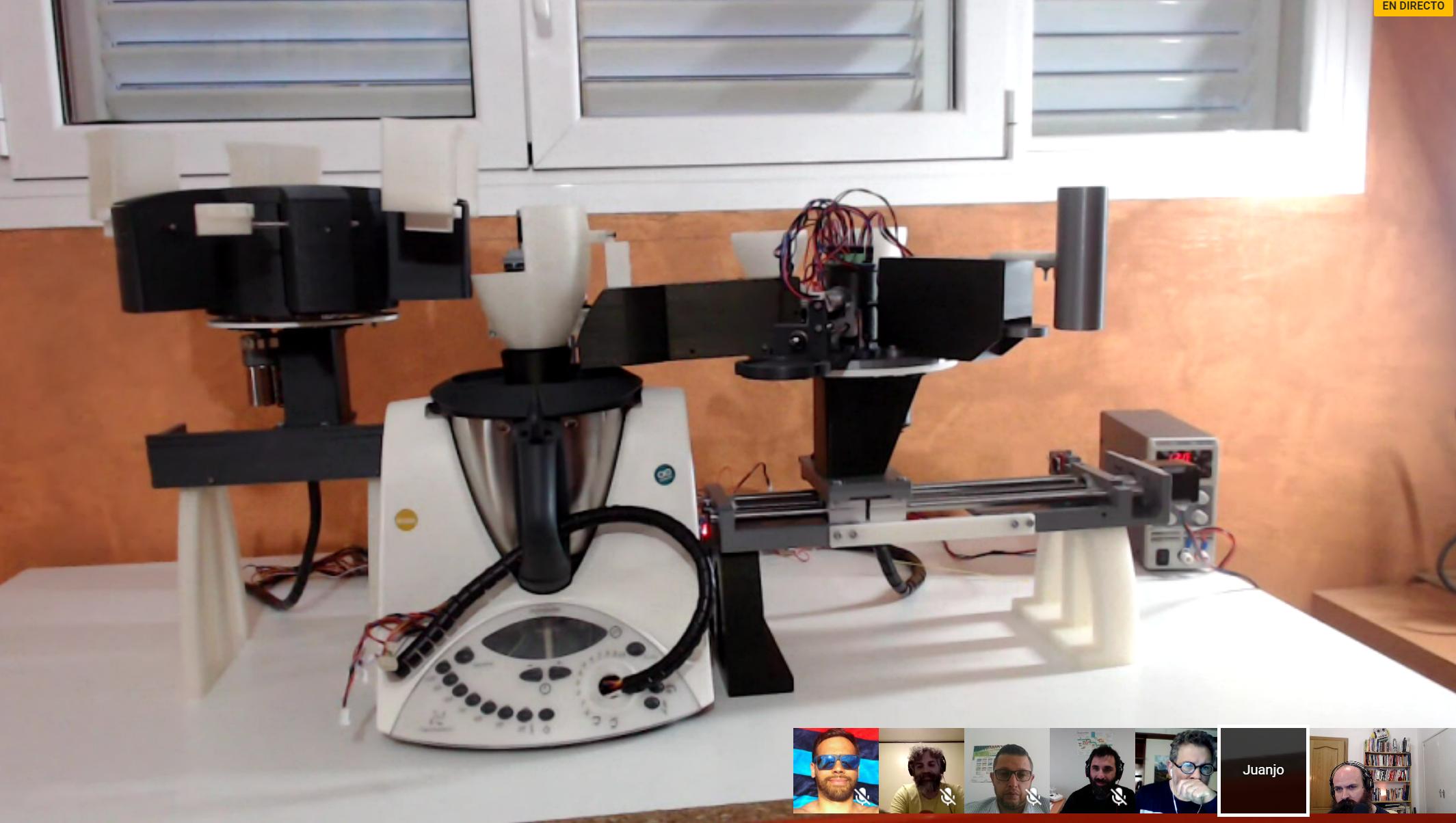 Mejorando una Thermomix con Arduino y diseño 3D