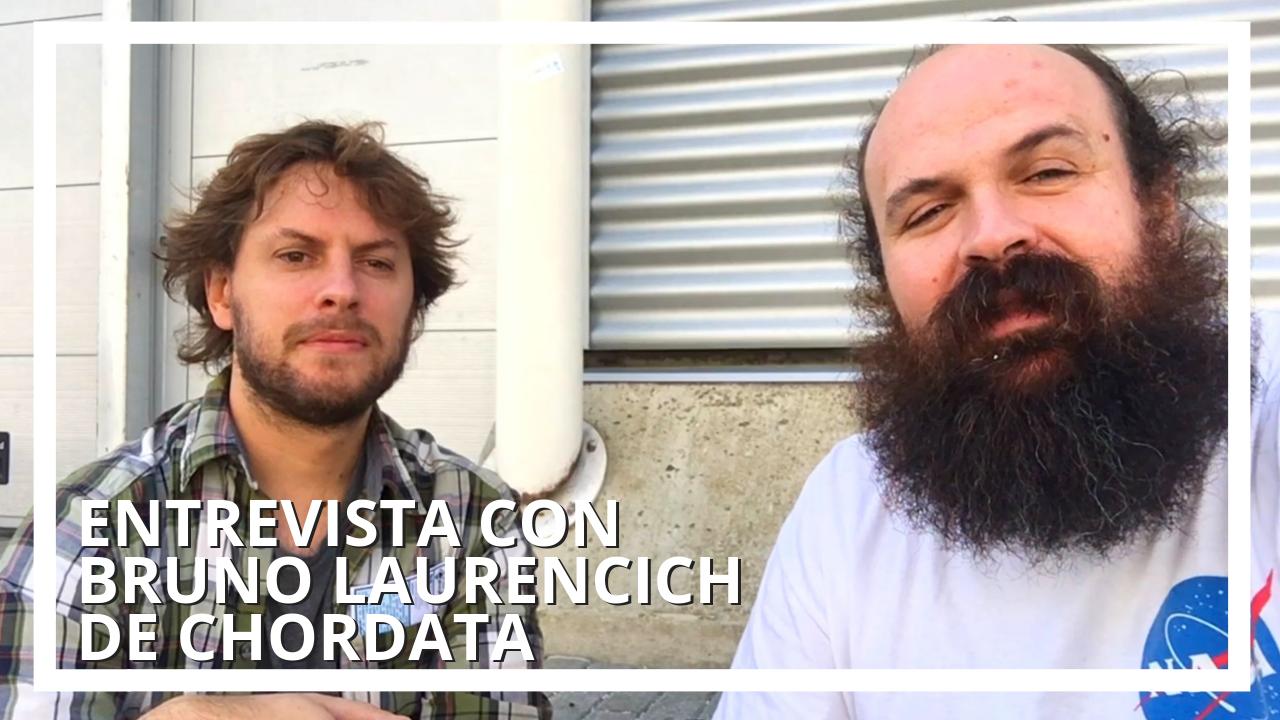 Entrevista a Bruno Laurecich, fundador del proyecto libre de captura de movimiento Chordata