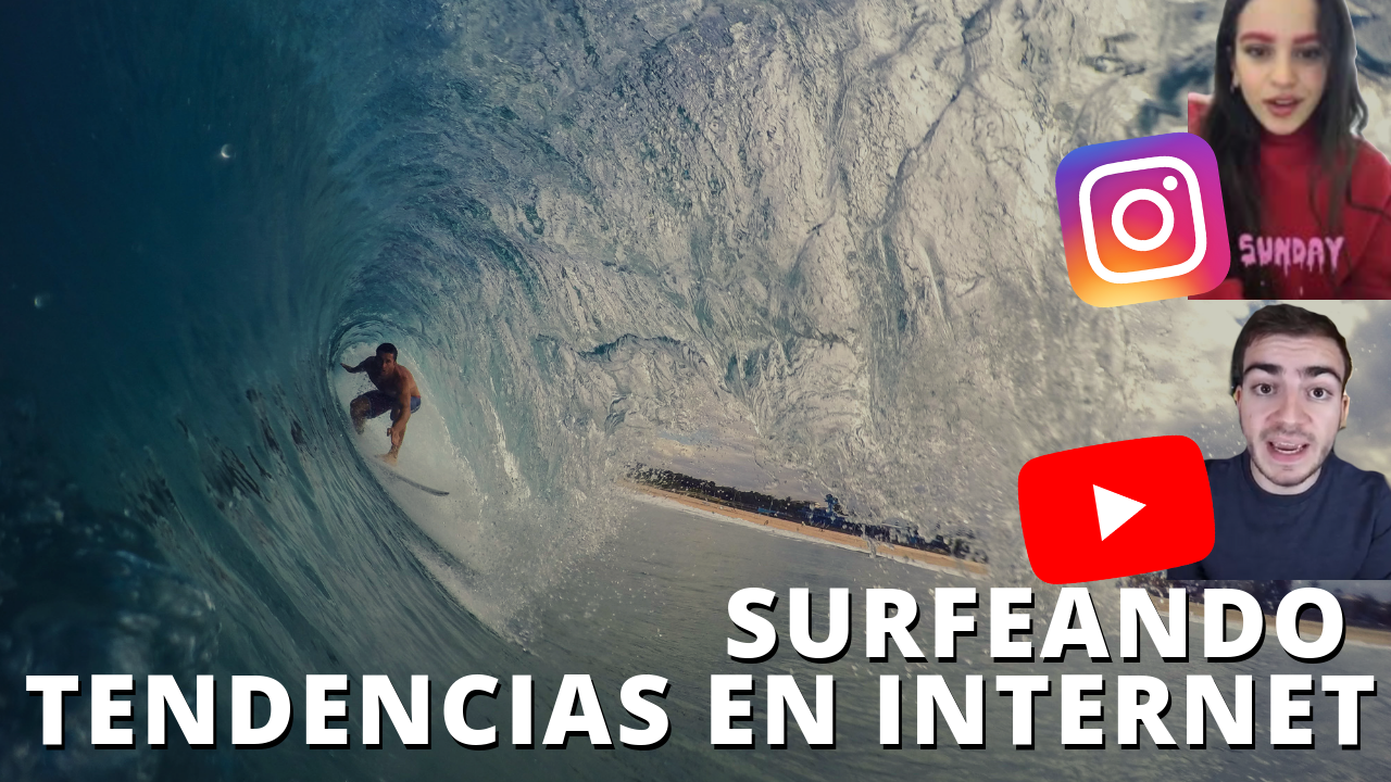 Surfear tendencias en Internet