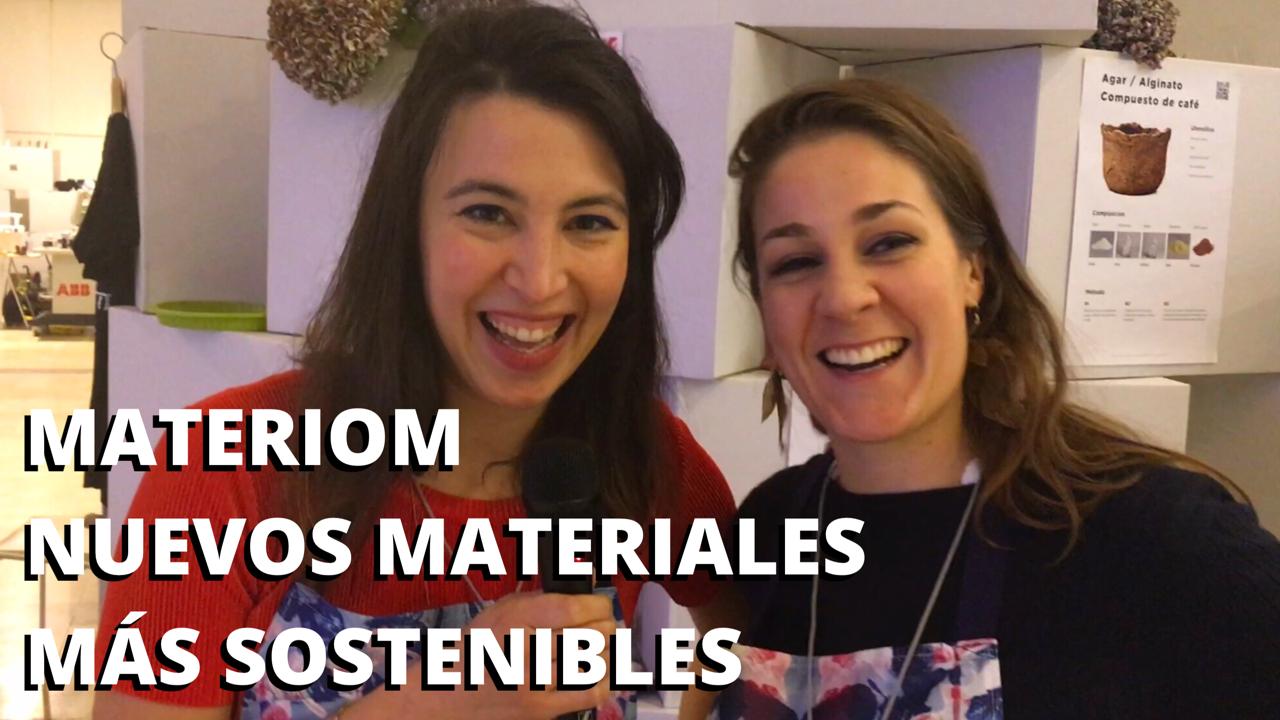 Materiom nuevos materiales más sostenibles