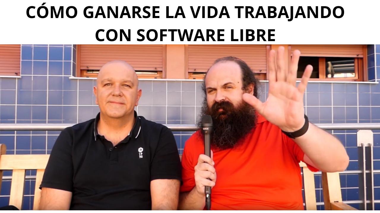 Cómo vivir trabajando con software libre